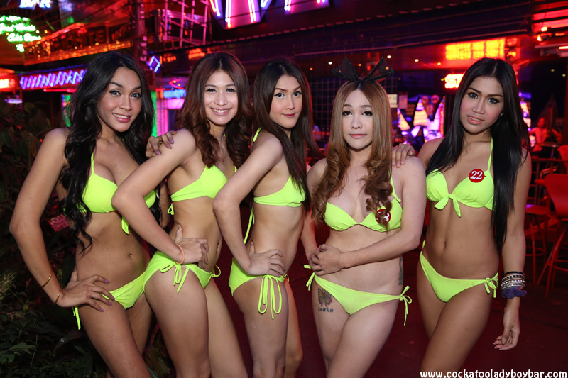bar Thai girls ladyboy